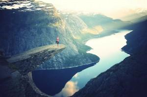 precarious yoga